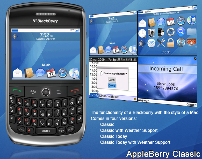 Free Blackberry Themes